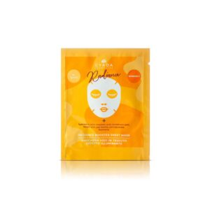 RADIANCE BOOSTER SHEET MASK – MASCHERA VISO IN TESSUTO ILLUMINANTE GYADA COSMETICS 15 ml